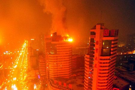 乌鲁木齐大厦失火,高层火灾再响警钟