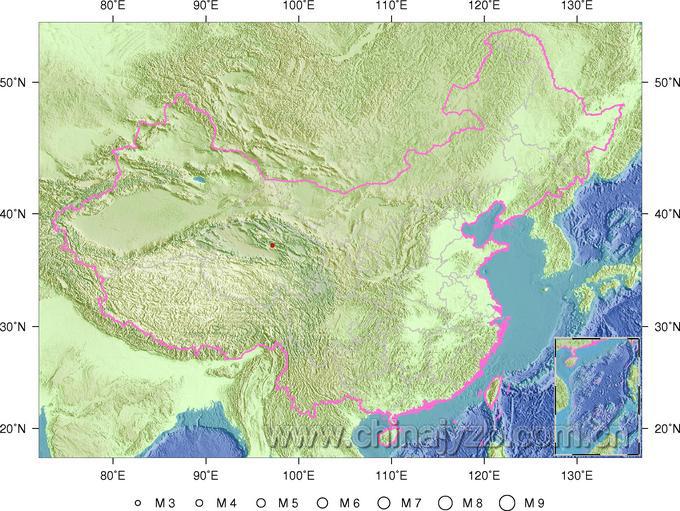 青海省海西蒙古族藏族自治州德令哈市(有感)