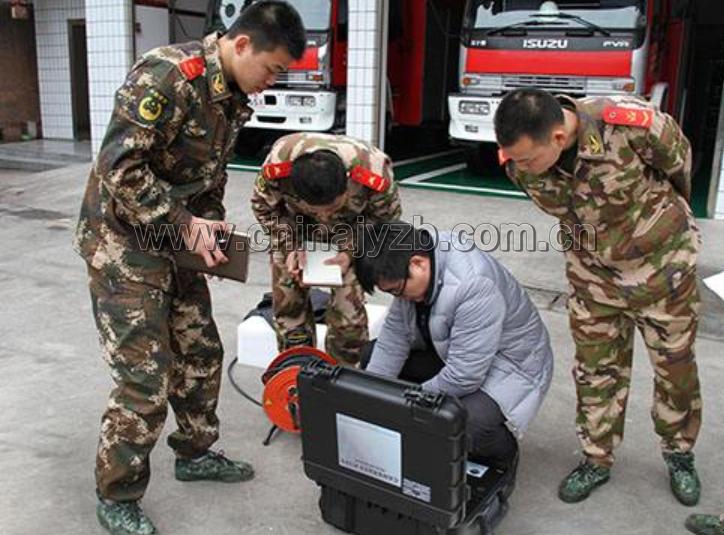 矿山救护本安防爆型雷达生命探测仪开箱图
